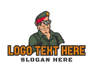 Soldier - Esports Clan Gaming Soldier logo design