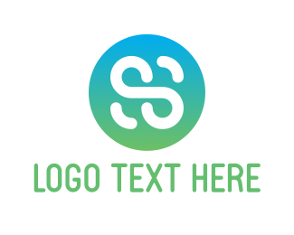 Letter S - Letter S Button logo design