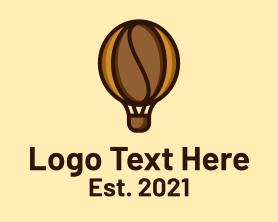 Restaurant - Coffee Air Balloon logo design