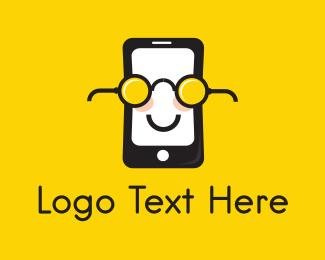 Nerd - Nerd Phone logo design