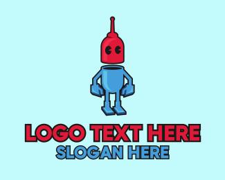 Robotics - Robot Droid logo design
