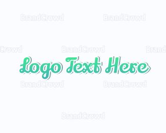 Baby Clothes - Gradient & Blue logo design