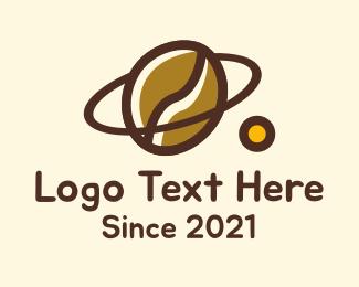 Coffee Roasters - Coffee Bean Planet logo design
