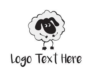 Lamb - Cute Sheep logo design