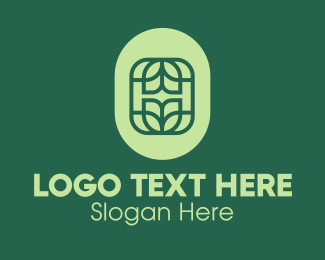 Ecofriendly - Abstract Organic Eco Leaf logo design