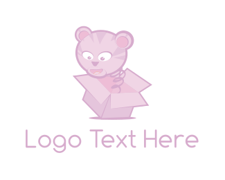 Present - Tiger Surprise logo design