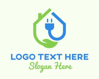 Socket - Renewable Energy Ecological logo design