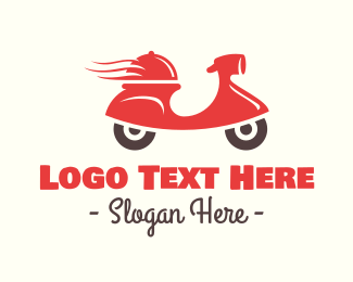 Takeout - Hot Food Delivery logo design