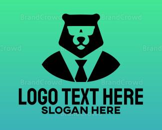 Coat - Bear Boss logo design
