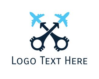 Engine - Aviation Engine logo design