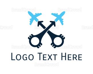 Airbus - Aviation Engine logo design