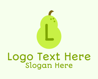 """Fruit Pear Lettermark"" by brandcrowd"