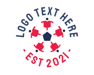 Crowdsourcing - Soccer Ball Team logo design