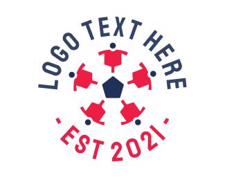 Goal - Soccer Ball Team logo design