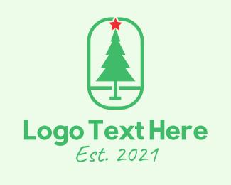 """Christmas Pine Tree "" by Alexxx"