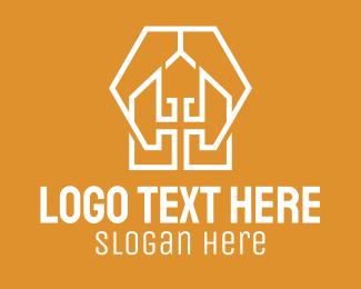 Barn - Barn House Apartment logo design
