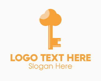 Key - Cloud Key logo design