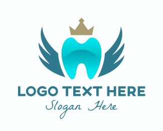 Dental - Royal Dental Clinic logo design