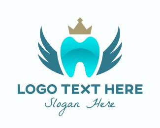 Dental Care - Royal Dental Clinic logo design