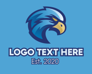 Sports - Blue Eagle Sports Mascot logo design