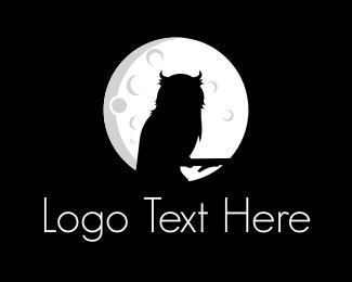 Moonlight - Night Owl logo design