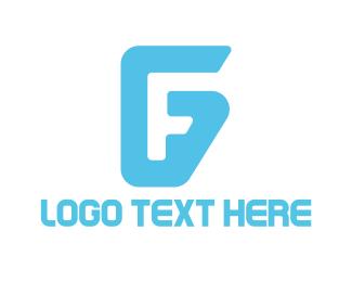 Easy - F & G logo design