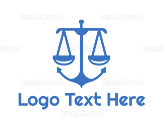 Equilibrium - Anchor Scale logo design