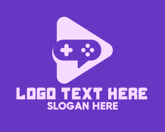 Video Game - Video Game Play logo design
