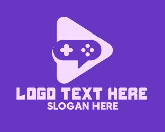 Play - Video Game Play logo design
