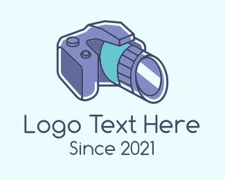 Slr - DSLR Photography Camera logo design