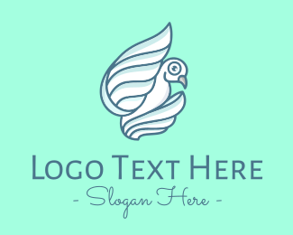 Peace - Peace White Dove logo design