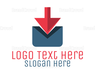 Airmail - Postal Arrow logo design