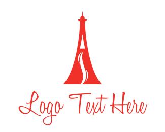 Vape - Eiffel Vape logo design