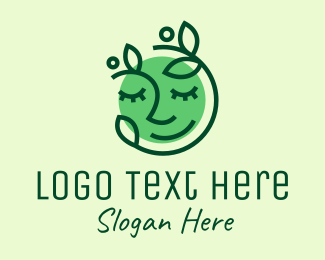 Facial - Organic Facial Treatment logo design