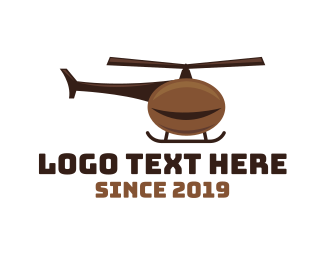 Rotor - Coffee Chopper logo design