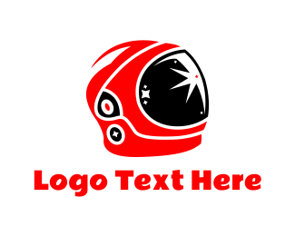 Visionary - Astronaut Helmet logo design