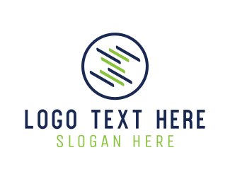 Business Consulting - Round Screen logo design