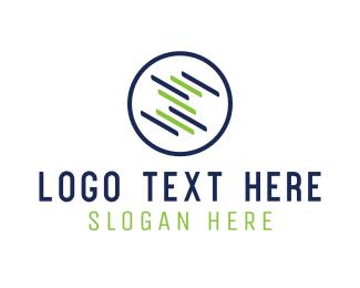 Lines - Round Screen logo design