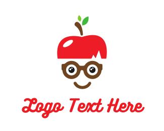 Geek - Apple Geek logo design