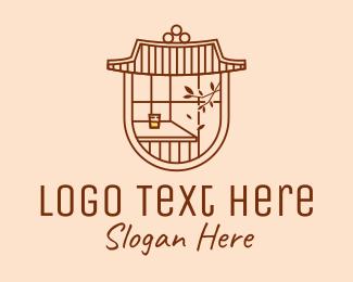 Chinese - Chinese Oriental Cafe logo design