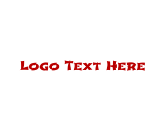 Martial Arts - Martial Arts Text Font logo design