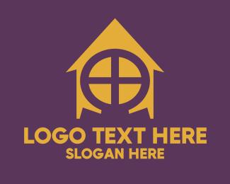 Sorority - Omega House logo design