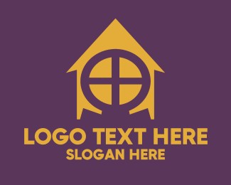 Room - Omega House logo design
