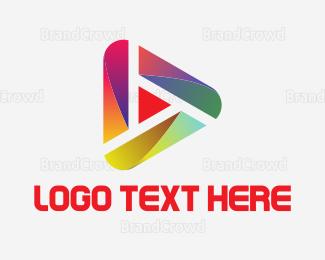 Player - Modern Video Player logo design