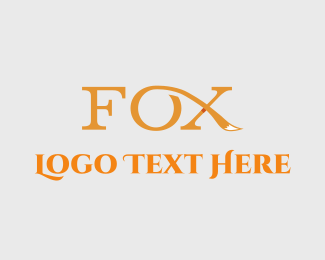Tail - Fox Tail logo design
