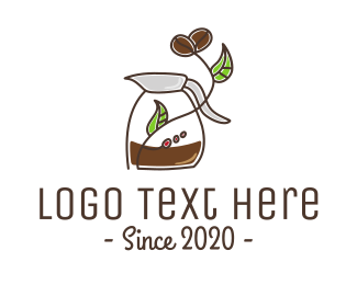 Coffee Store - Stroke Coffee Brewing  logo design