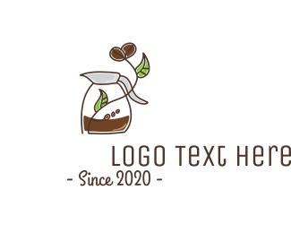 Espresso - Stroke Coffee Brewing logo design