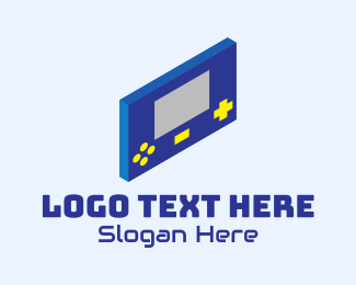 Tetris - Classic Gaming Toy logo design