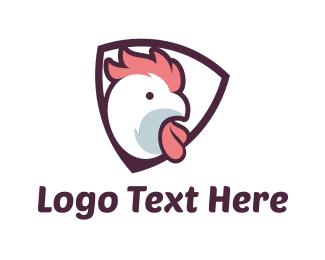 Shield - Chicken Shield logo design