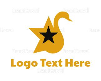 Fest - Star Swan logo design